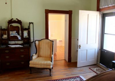 room 11 arm chair and victorian dresser